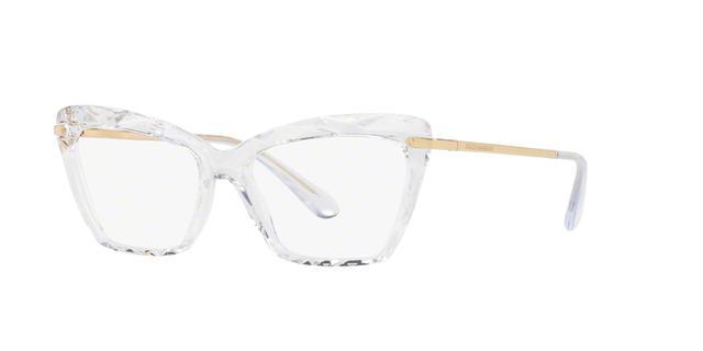 Dolce Gabbana DG5025 3133 Transparente Lente Tam 53 - Óculos de grau ... 2a57ad2fd4