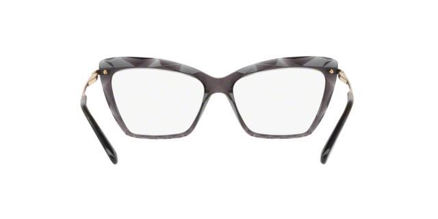 18dd1d492ef6b Dolce Gabbana DG5025 504 Cinza Transparente Lente Tam 53 - Óculos de ...