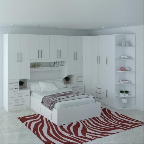 Imagem de Dormitório De Casal Completo 1222 Branco