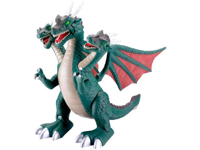 Imagem de Dragão de Brinquedo 3 Cabeças