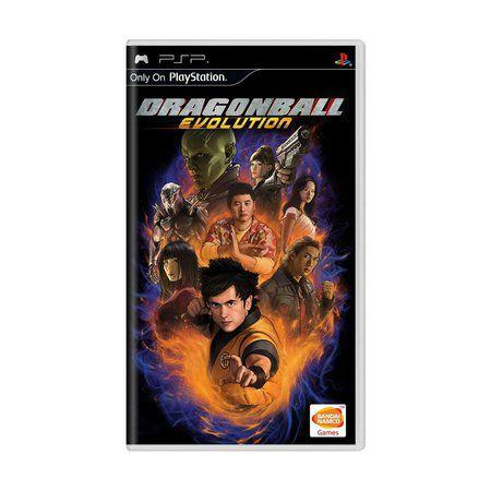 Jogo Dragonball Evolution - Psp - Bandai Namco Games