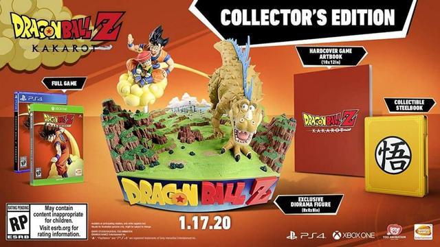 Jogo Dragon Ball Kakarot Collectors Edition - Xbox One - Bandai Namco Games