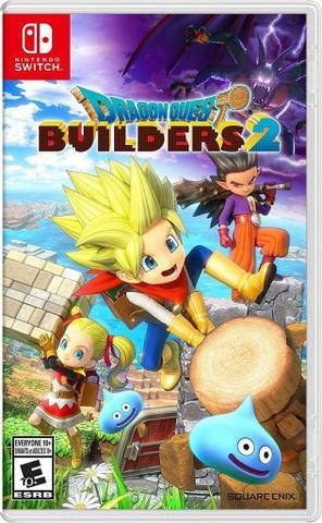 Jogo Dragon Quest Builders 2 - Switch - Square Enix