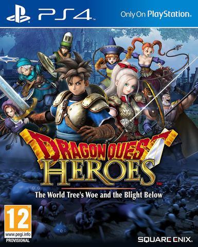 Jogo Dragon Quest Heroes - Playstation 4 - Square Enix