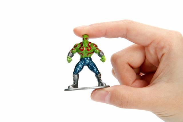 Imagem de Drax Nano Marvel Metal Diecast - DTC 4279 MV52
