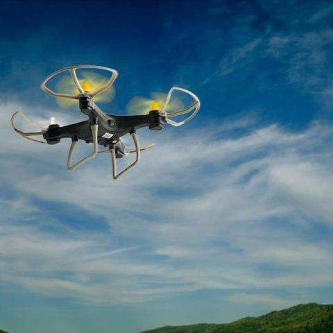 Imagem de Drone Fun com Estabilizador de voo Controle Remoto Alcance de 50m Bateria 6 minutos Flips em 360 Multilaser - ES253