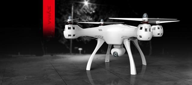 Imagem de Drone Syma X8 Pro com Gps Fpv visualização Tempo Real Altitude Holder