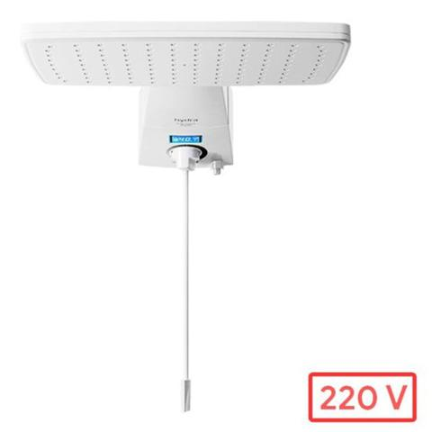 Imagem de Ducha Digital - Branca - Hydra Polo Hybrid - Display Com Led - 220v