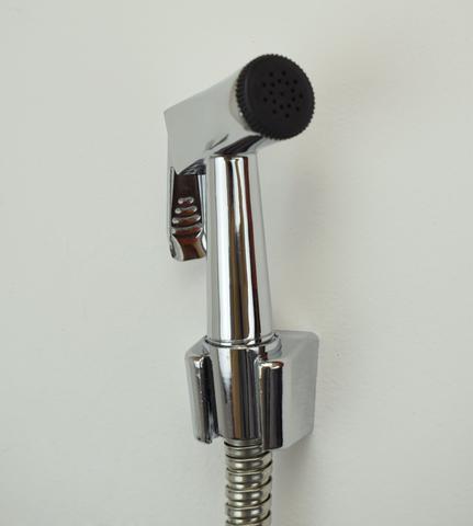 Imagem de Ducha Higiênica Em Metal Cromado 1,20 Cm Registro Quadrado