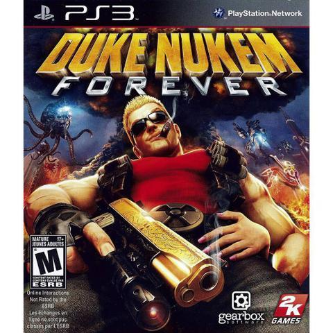 Jogo Duke Nukem Forever - Playstation 3 - 2k Games