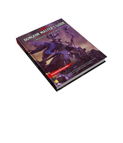 Imagem de Dungeons and Dragons 5ª Edição Dungeon Master's Guide - Livro do Mestre