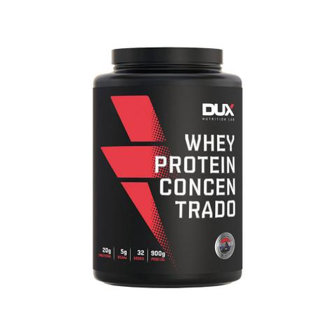 Imagem de Dux Whey Protein MorangoConcentrado 900g