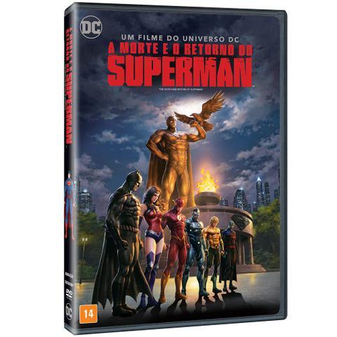 Imagem de DVD - A Morte e o Retorno de Superman