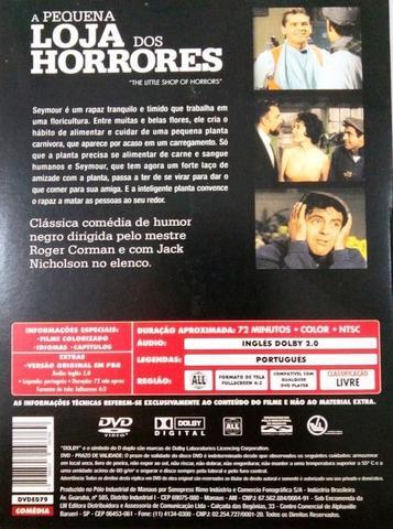 Imagem de DVD A Pequena Loja dos Horrores Jack Nicholson