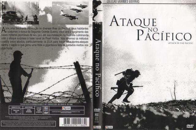 Imagem de DVD Ataque no Pacífico - Coleção Grandes Guerras