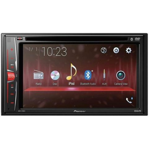 Imagem de DVD Automotico Pioneer AVH-210EX in-Dash 2-DIN 6.2