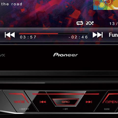 Imagem de DVD Automotivo Pioneer AVH-3180BT 1-DIN Tela Retrátil 7