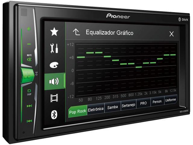 """Imagem de DVD Automotivo Pioneer AVH-A208BT 6,2"""" Bluetooth"""