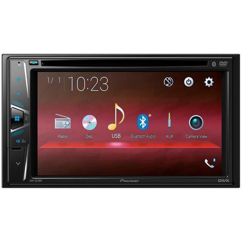 Imagem de DVD Automotivo, Pioneer, AVH G218BT, Preto, Bluetooth.