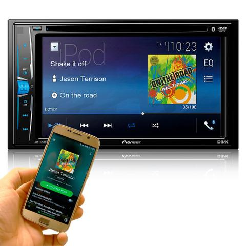 Imagem de Dvd Automotivo Pioneer MVHG218BT Bluetooth 2din Multimidia*