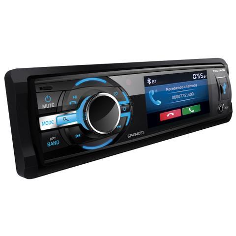 Imagem de DVD Automotivo Pósitron SP4340 Tela 3 Polegadas Bluetooth