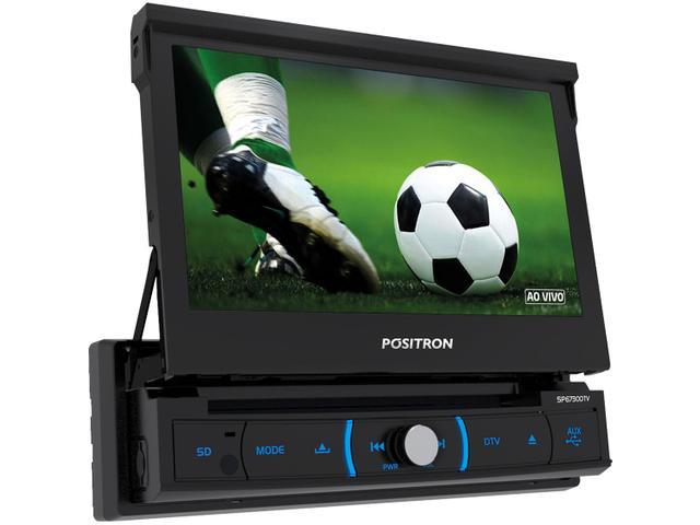 """Imagem de DVD Automotivo Pósitron SP6730DTV LCD 7"""""""