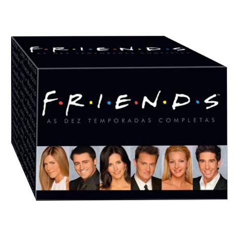 Imagem de DVD Box - Coleção Friends - 1ª a 10ª Temporadas Completas