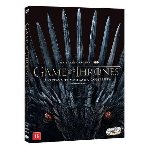 Imagem de DVD Box - Game of Thrones - 8ª Temporada Completa