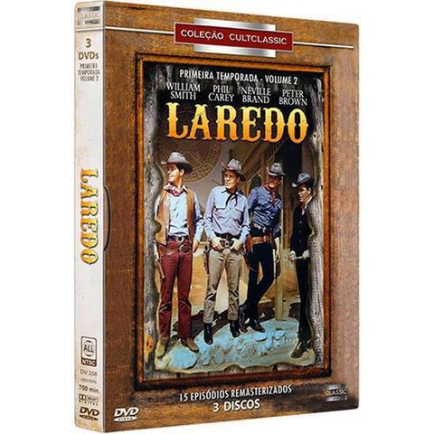 Imagem de DVD BOX - Laredo: 1ª Temporada - Volume 2 (3 discos)