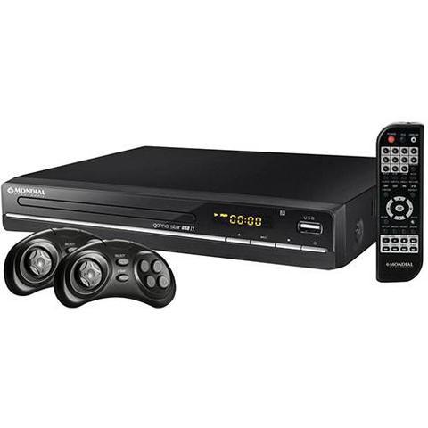 Imagem de DVD Game Star Mondial 6010-01 com USB II com Karaokê, Função Game, Entrada USB e Ripping D-14