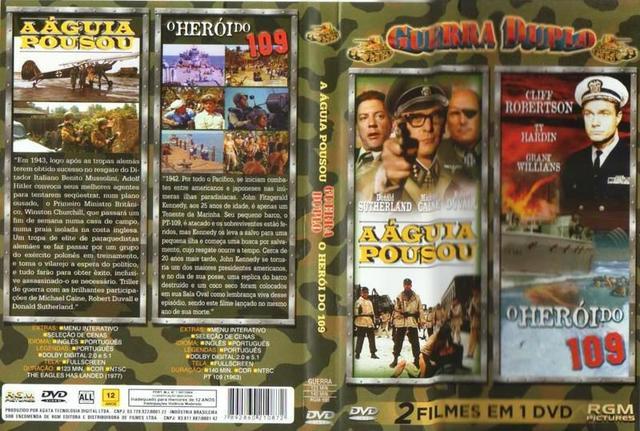 Imagem de DVD Guerra Duplo - A Águia Pousou - O Herói do 109
