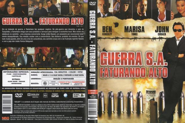 Imagem de DVD Guerra S.A Faturando Alto