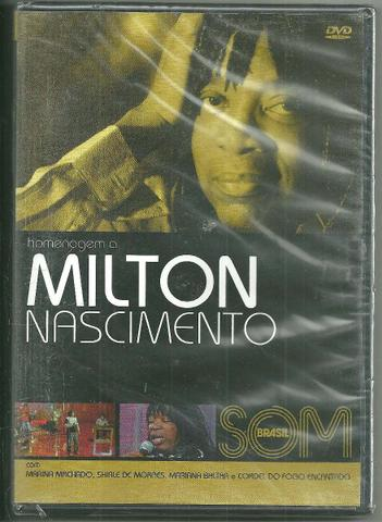 Imagem de DVD Homenagem a Milton Nascimento