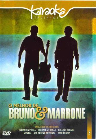 Imagem de Dvd - karaoke o melhor de bruno e marrone