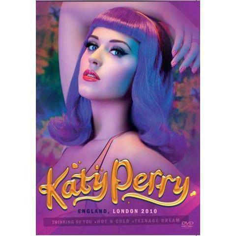 Imagem de DVD Katy Perry England London 2010