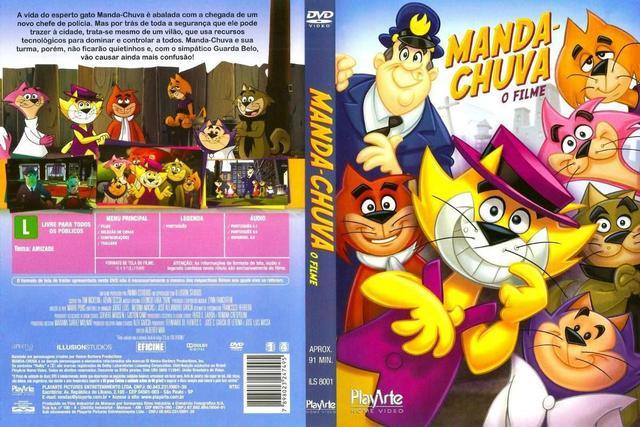 Imagem de DVD Manda-chuva - O Filme