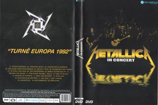 Imagem de DVD Metallica In Concert