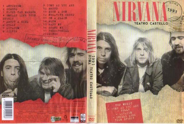 Imagem de DVD Nirvana - Teatro Castelo