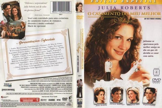 Imagem de DVD O Casamento Do Meu Melhor Amigo