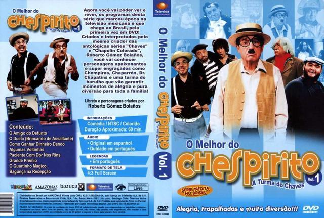 Imagem de DVD O Melhor do Chespirito Turma do Chaves Vol. 1