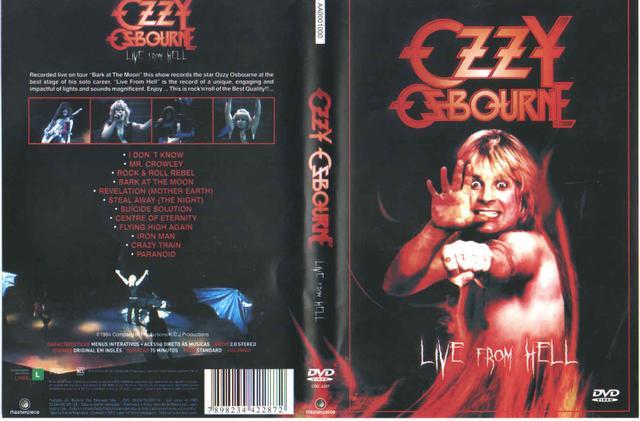 Imagem de Dvd - ozzy osbourne live from hell