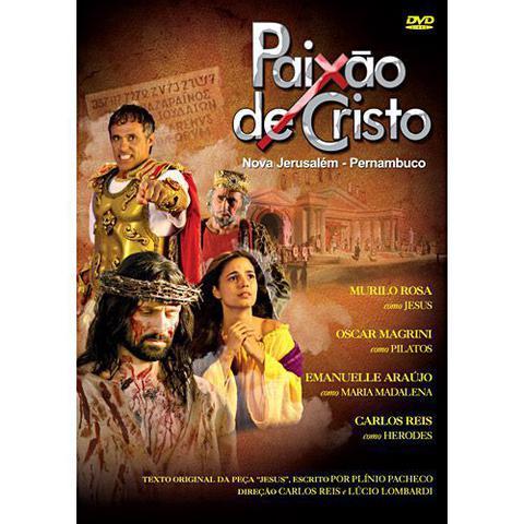 Imagem de Dvd paixão de cristo - nova jerusalém-pernambuco