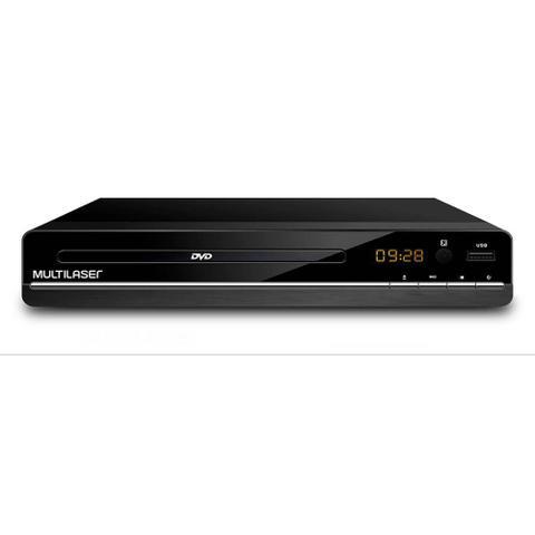 Imagem de Dvd Player 3 Em 1 Multimídia Usb Multilaser Preto - SP252