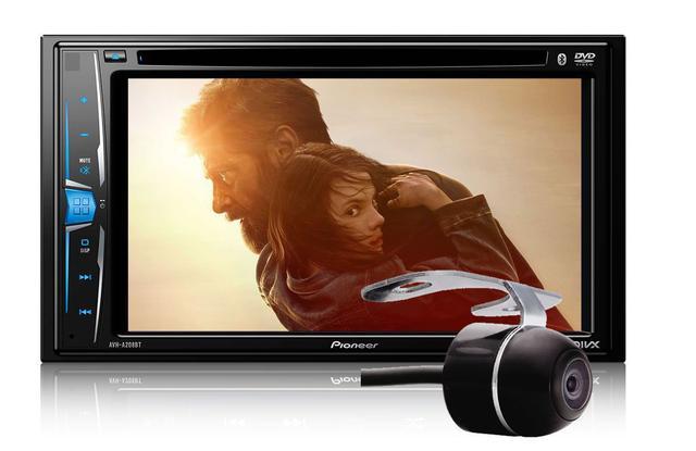 Imagem de DVD Player Automotivo 2 DIN Pioneer AVH-G218BT Tela 6,2