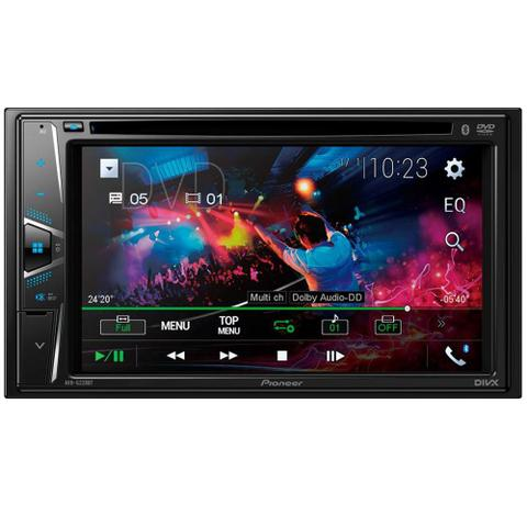 Imagem de DVD Player Automotivo 2 DIN Pioneer AVH-G228BT Tela 6,2