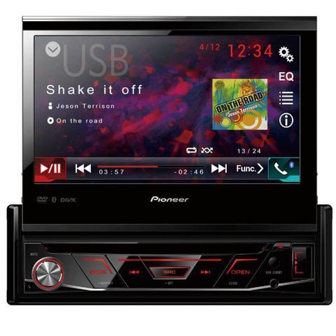 Imagem de DVD Player Automotivo Pioneer AVH-3180BT Tela Retrátil de 7