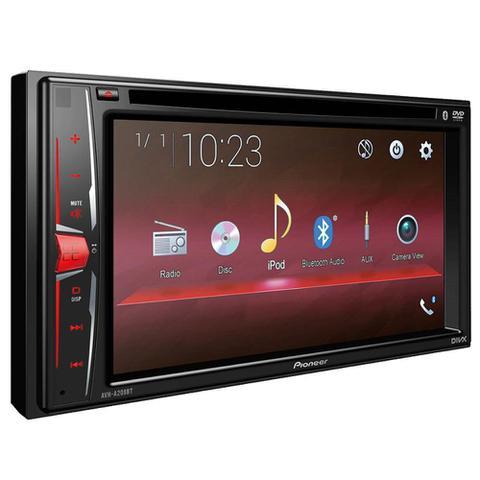 Imagem de DVD Player Automotivo Pioneer AVH-A208BT, MP3, CD/USB, DVD, Rádio AM/FM
