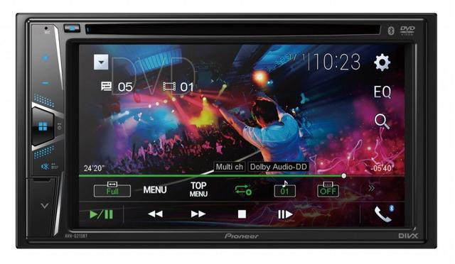 Imagem de DVD Player Automotivo Pioneer AVH-G215BT 6.2