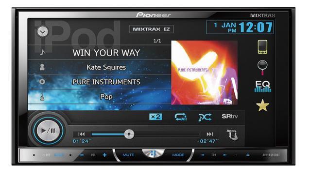 Imagem de DVD Player Automotivo Pioneer AVH-X5550BT