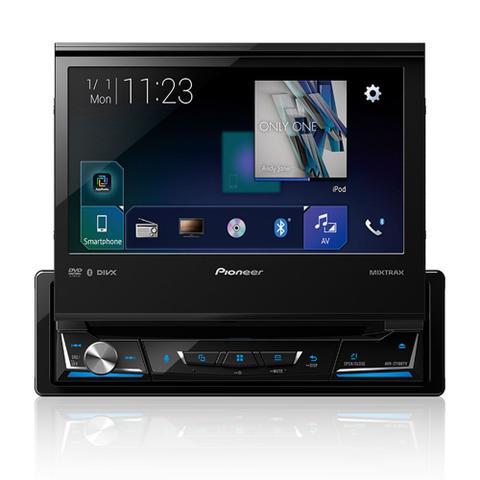 Imagem de DVD Player Automotivo Pioneer AVH-Z7180TV Retrátil 7 Polegadas Leitor CD TV Digital Bluetooth USB SD FM WAZE Entrada Câmera de Ré